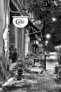 Creemore Cafe by Allan Thompson