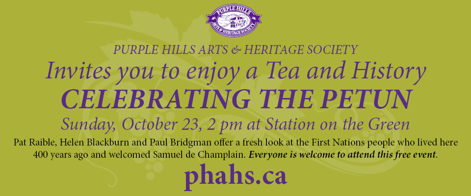 Tea and History Event