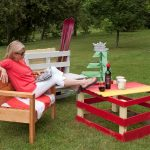 Pallet furniture by Jim Stacey